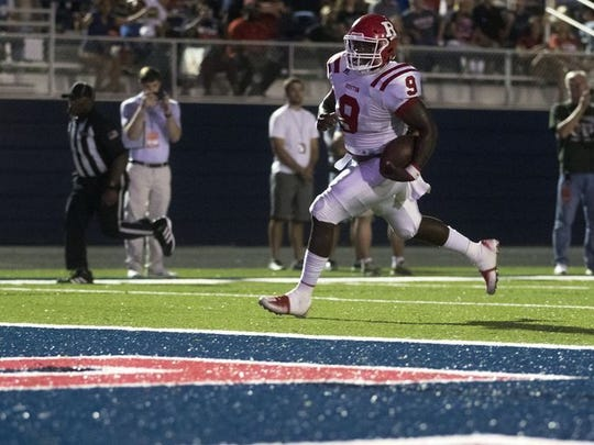 Ruston's Tahj Samuel is the 2017 Times Area Defensive Player of the Year.