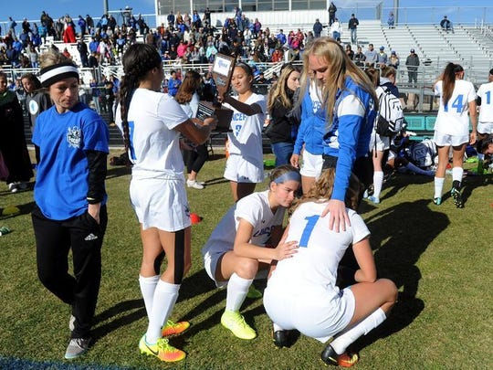 Gorman beat McQueen for the state 4A soccer title.