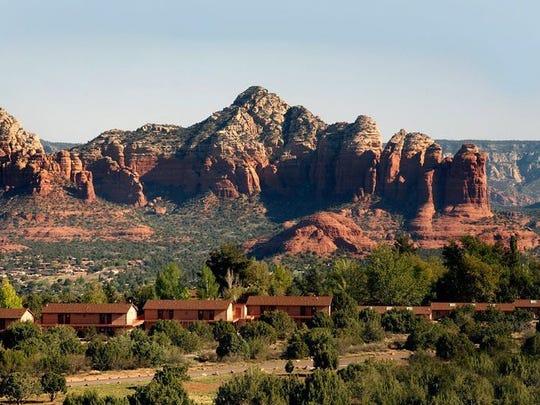 Sky Ranch Lodge en Airport Mesa en Sedona tiene vistas