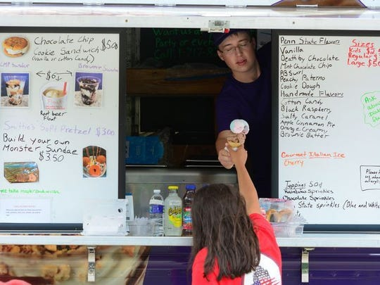 Patrons who attend 'Food Truck Fridays' in Springettsbury Park will have a variety of options to chose from. (John Pavoncello/photo)