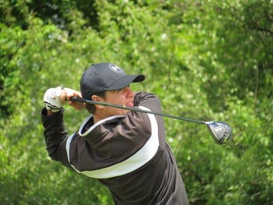 Senior Thomas Fritz is a returning starter who averages