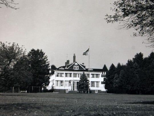 Rockefeller mansion in Lakewood, circa 1950s.