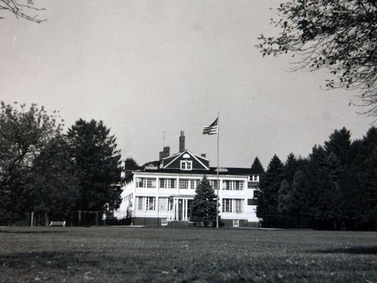 Rockefeller mansion in Lakewood, circa 1950s.