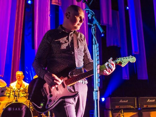 Smashing Pumpkins perform at Comerica Theatre on July 11, 2015.