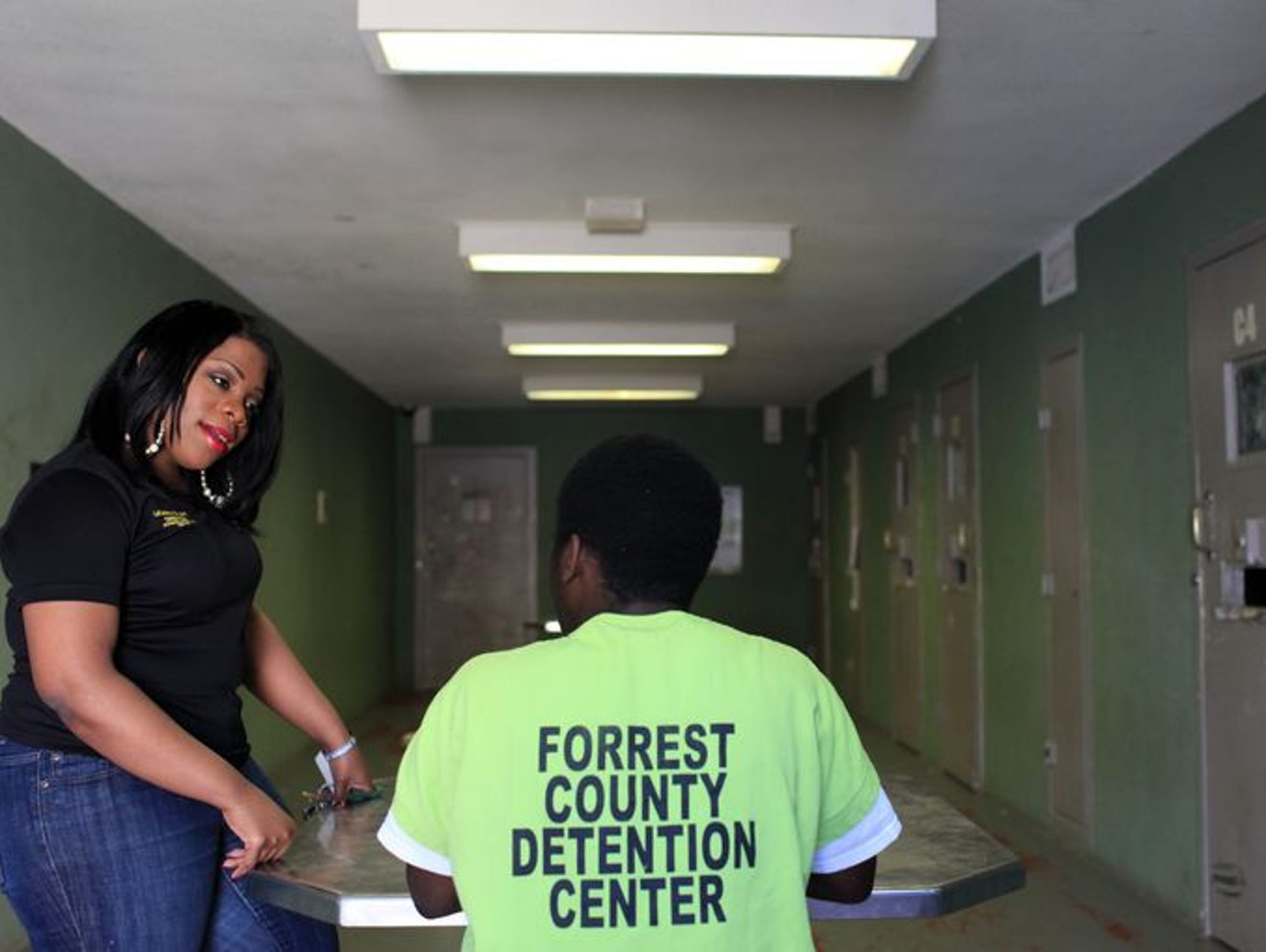 LaKeisha Bryant-Hall, director of the Forrest County