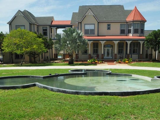 The Mickey Mouse mansion on Hield Road in Palm Bay.