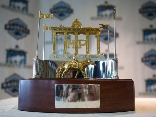 The trophy that goes to the winner of the $1 million