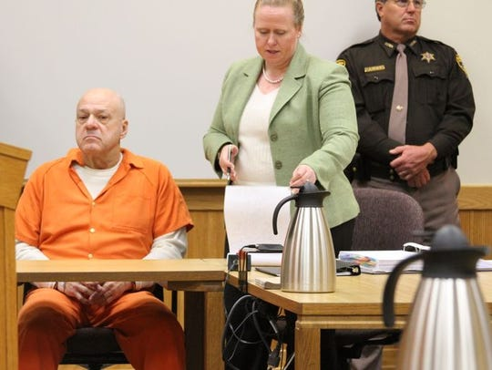Martin Zale sits in court Friday, Nov. 21, 2014, during