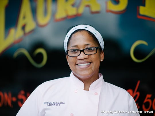 At Laura's II, Madonna Broussard keeps many of grandma Laura's original recipes intact.