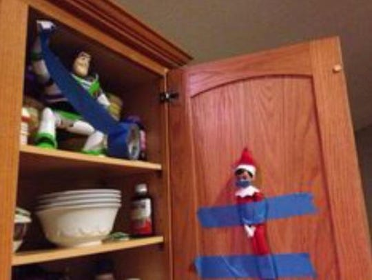 "Submit your ""Elf On The Shelf"" photos by emailing them"