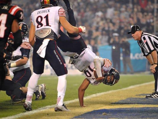 NCAA Football: Poinsettia Bowl-Navy vs San Diego State