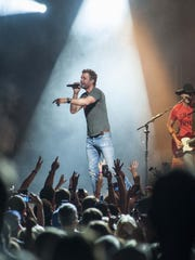 Dierks Bentley performs at Riverbend.