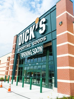 A new Dick's Sporting Goods will be opening at the Cumberland Mall in Vineland.