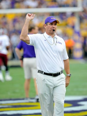 Tommy Moffitt is in his 15th season as LSU strength and conditioning coach.