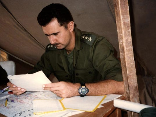 Assad: From accidental heir to lonely dictator