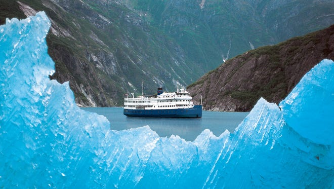 Ray Smythe once passed along a piece of advice while watching icebergs on an Alaskan cruise.