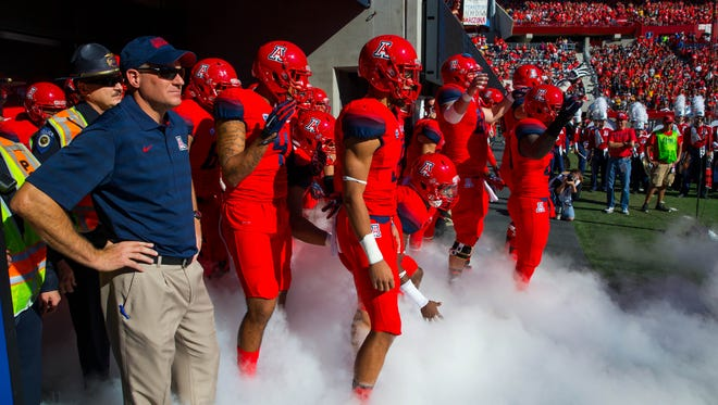 Coach Rich Rodriguez and the Arizona Wildcats will play for a Pac-12 title.