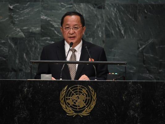 UN-GENERAL ASSEMBLY-NORTH KOREA
