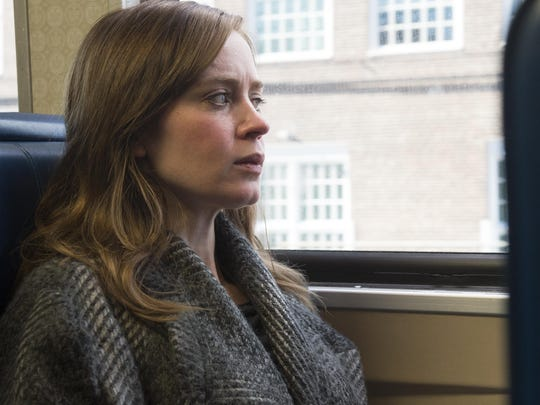 "Emily Blunt stars in the mystery ""The Girl on the Train,"" based on a popular book by Paula Hawkins."
