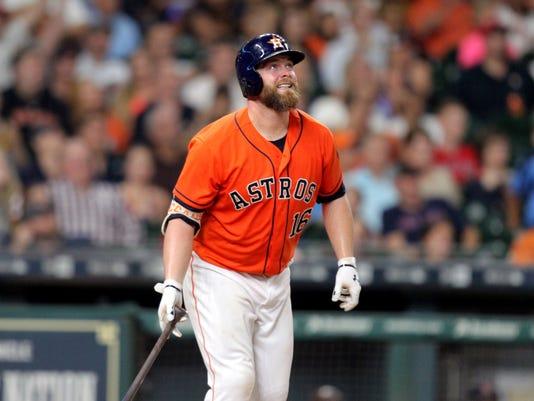 USP MLB: BOSTON RED SOX AT HOUSTON ASTROS S BBA HOU BOS USA TX