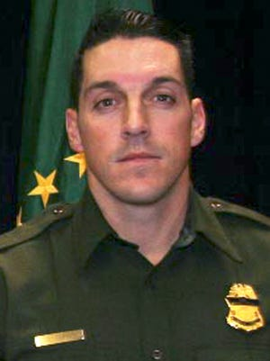 This undated photo provided by U.S. Customs and Border Protection shows U.S. Border Patrol agent Brian A. Terry. Terry was fatally shot north of the Arizona-Mexico border in 2010.