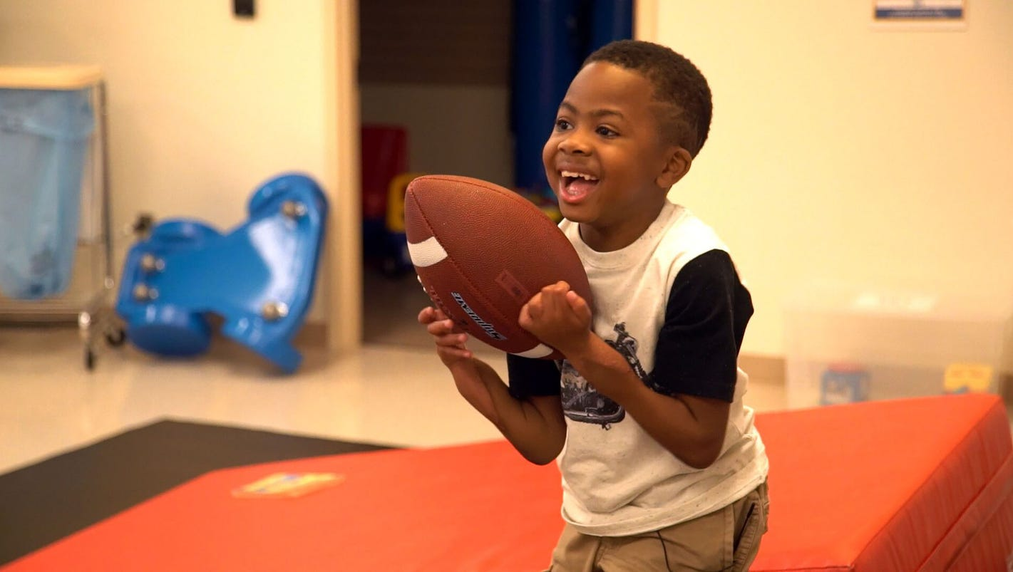 zion harvey boy with first double hand transplant can now hold a