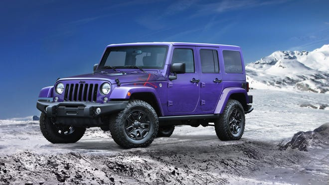 Two special-edition Jeeps, including the 2016 Wrangler Backcountry, will debut at the Los Angeles auto show this week.