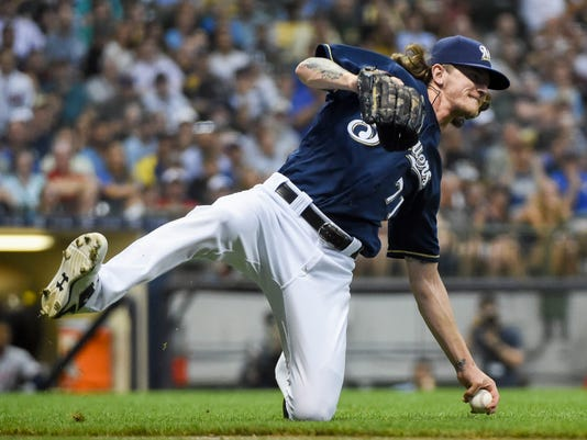MLB: Washington Nationals at Milwaukee Brewers