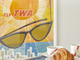 David Klein's Fly TWA Florida and breakfast served