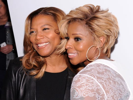 Queen Latifah and Mary J. Blige have been officially