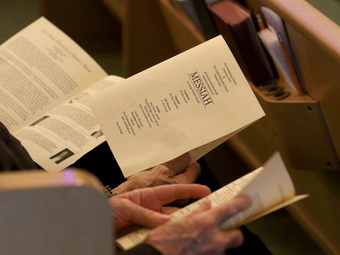 The First Presbyterian Church Sanctuary Choir and the