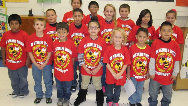 Several JSS students were recognized for caring.