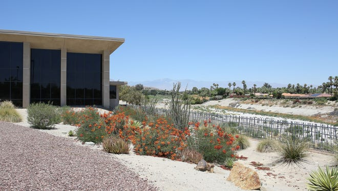 The Coachella Valley Association of Governments had proposed laying the CV Link behind the Rancho Mirage Public Library before the city dropped out of the project.