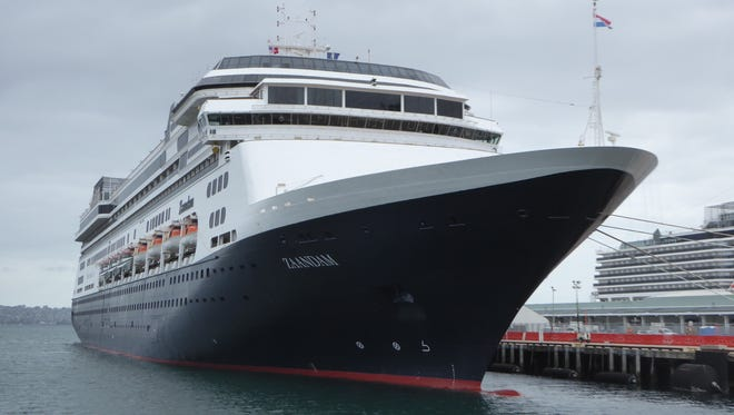 Holland America's MS Zaandam is currently off the coast of Panama.