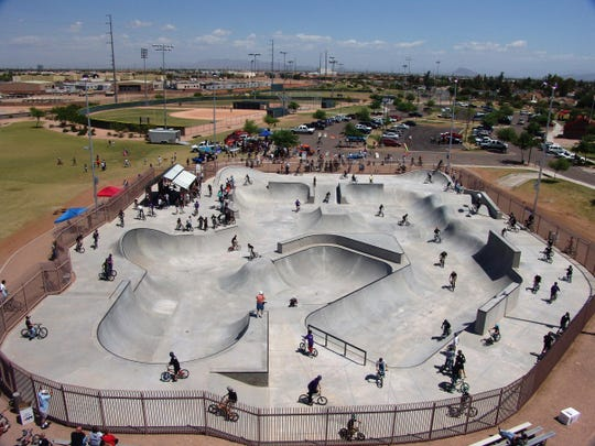 Chandler's Espee Park features the Valley's first public