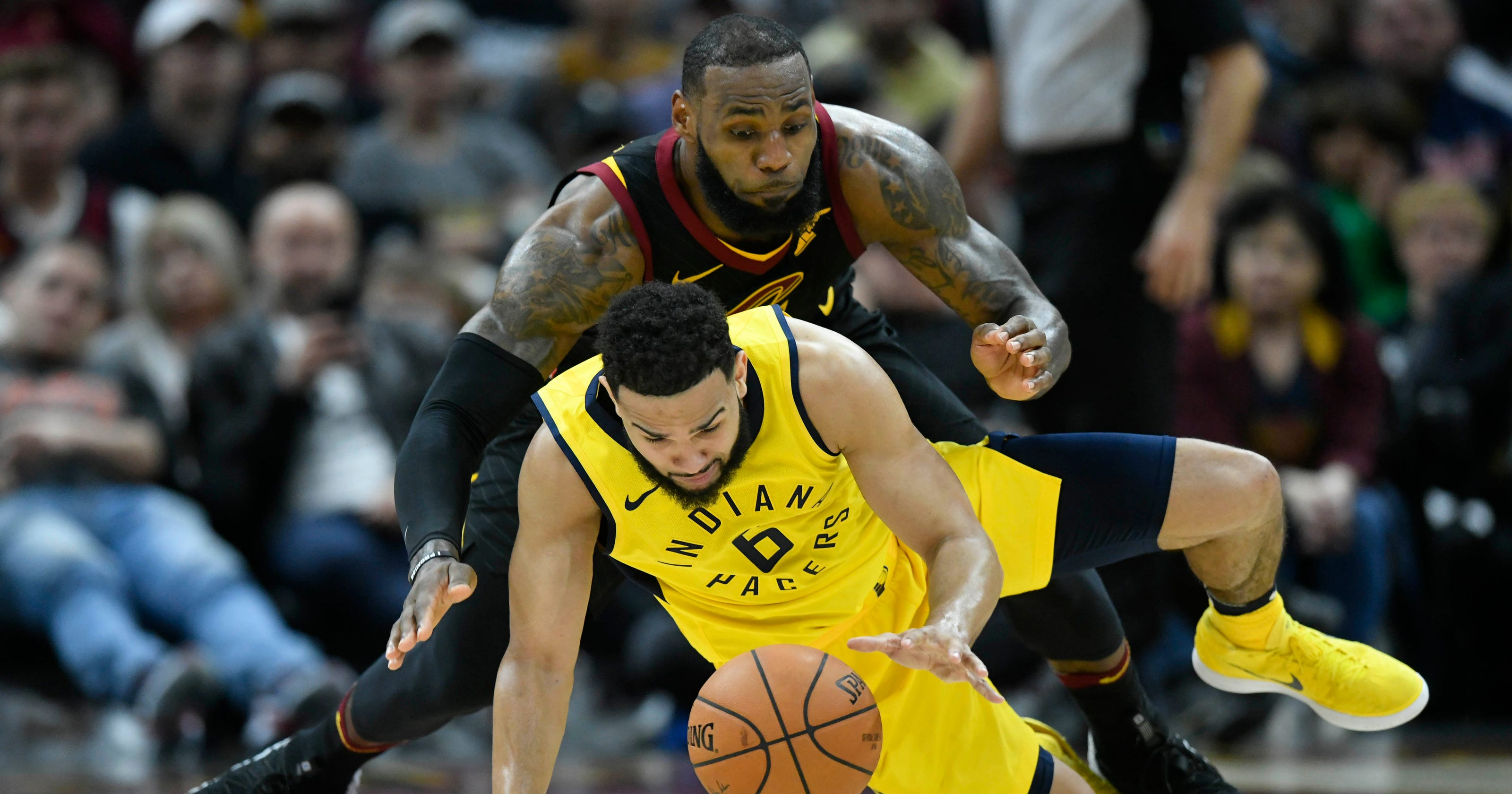 d2f99d33d36 Blue-collar Pacers good enough to take down LeBron James