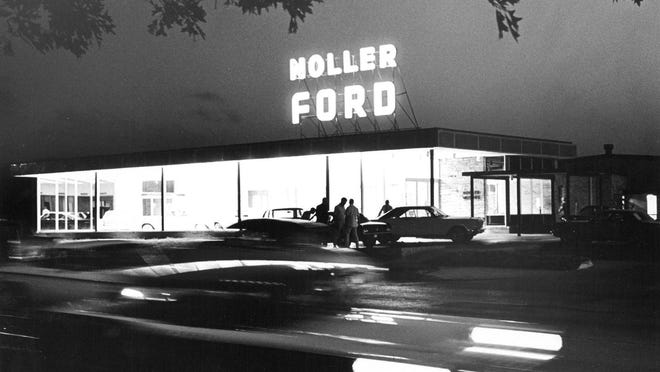 This photo was taken in June 1965 as Topeka's Noller Ford held grand opening ceremonies for its new location at 2245 S.W. Topeka Blvd.