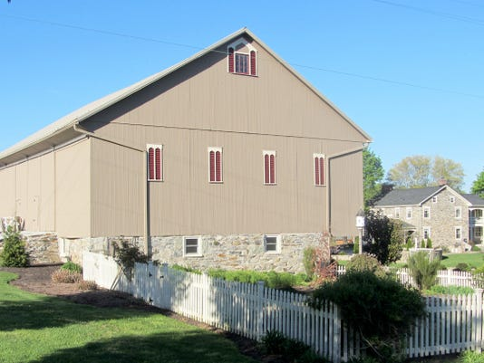 The 1867 Beech Springs Farm Barn is pictured in 2013.