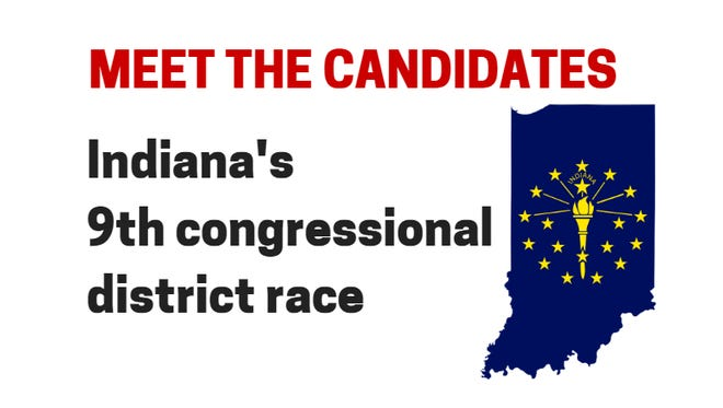 Indiana's 9th congressional district race.