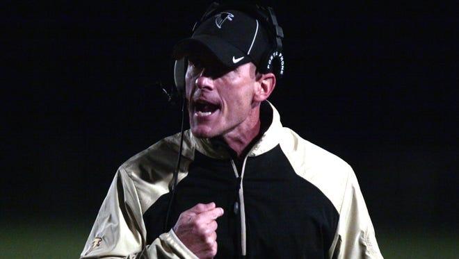 Winchester coach Mike Jones