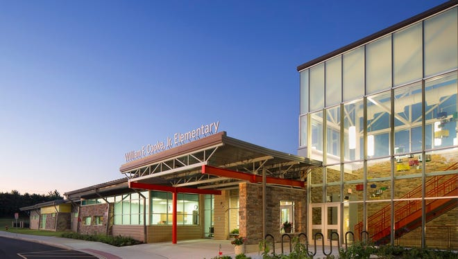 The new William F. Cooke Jr. Elementary School in Hockessin, Del.