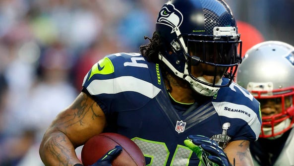 RB Marshawn Lynch nearly led the Seahawks to back-to-back