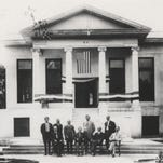 THEN: The first Tempe City Hall was completed in 1914 in the Neo-Classical style. Over the next 50 years, it was expanded several times until the decision was made to demolish it in 1968.