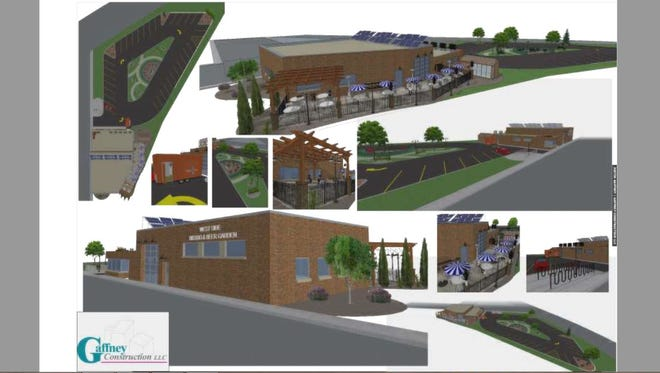 Urban Street Bistro is working with Gaffney Construction on a possible redevelopment of the West Side Battery building into a restaurant. Urban Street Bistro submitted these renderings to the city of Wausau with its pitch for the property.