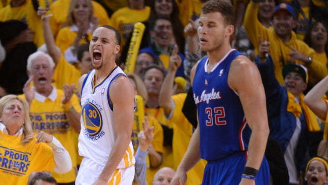 Stephen Curry and the Warriors evened their series against Blake Griffin and the Clippers.