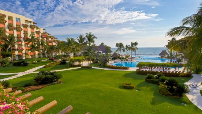 The Gran Velas Riviera Nayarit resort in Puerto Vallarta, Mexico.