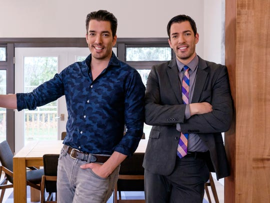 "The ""Property Brothers,"" Jonathan (left) and Drew Scott,"