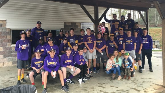 The North Henderson baseball team is partnering with the Vs. Cancer this season to raise awareness and funds for childhood cancer.