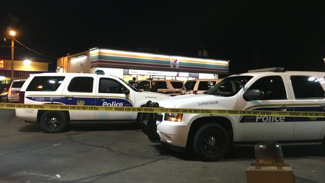 Phoenix police were at the scene of a double shooting Tuesday night near 27th Avenue and Indian School Road.