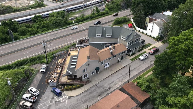 Renovations underway at the location of the Farmers & Chefs restaurant on Albany Street in the City of Poughkeepsie on June 4, 2018. The restaurant is expected to open on July 3rd.